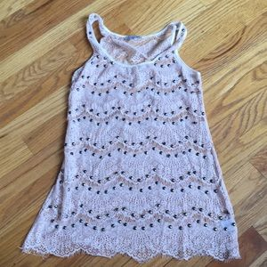 Tank top with gems